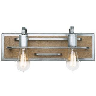 Varaluz Lofty 2-Light Bath/Vanity Fixture