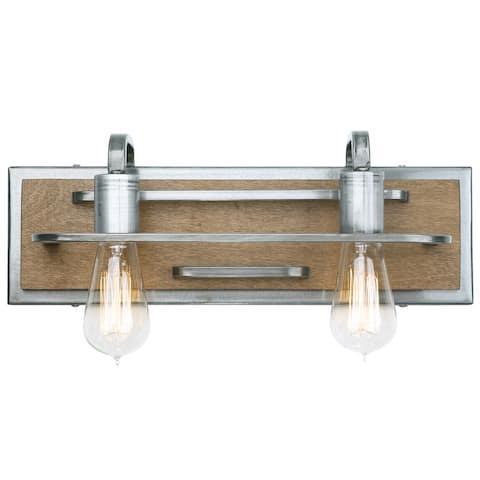 Lofty 2-Light Bath/Vanity Fixture
