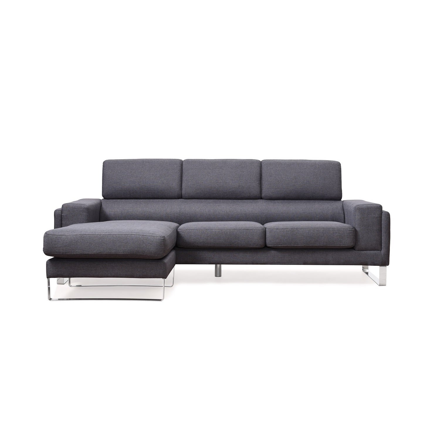 US Pride Furniture Modern Fabric Reversible Sectional Sof...