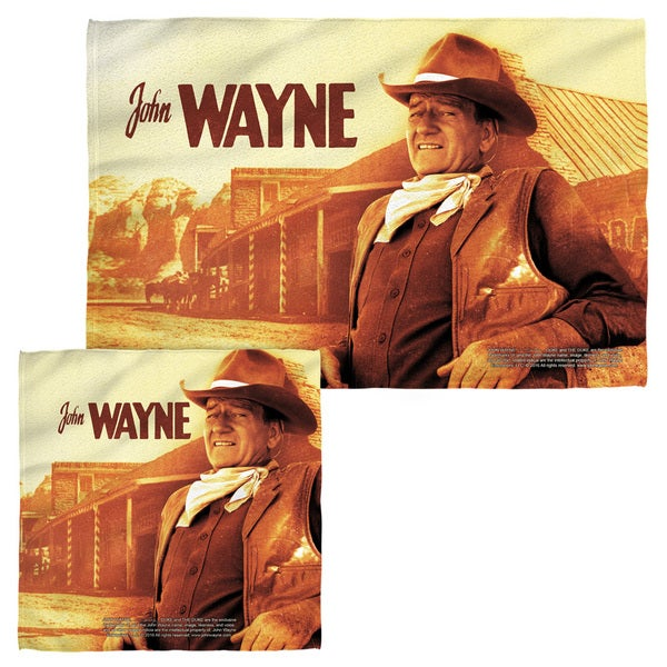 JOHN WAYNE/OLD WEST Face/Hand Towel Combo