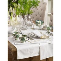 Luana Collection Metallic Trimmed Placemats (Set of 4)