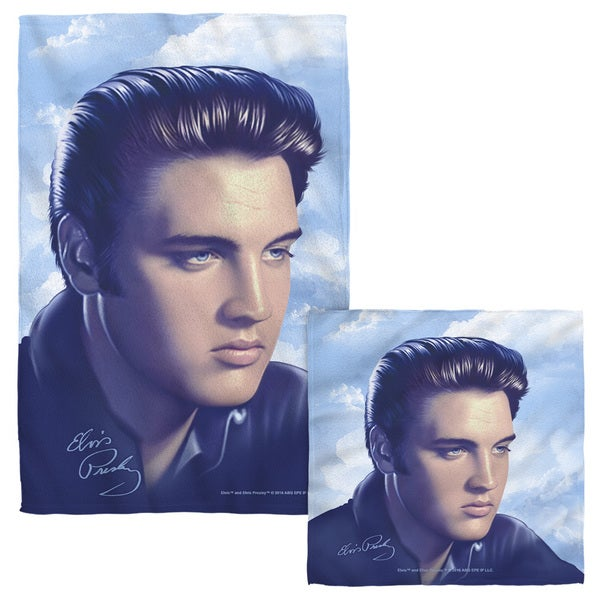 ELVIS/BIG PORTRAIT Face/Hand Towel Combo