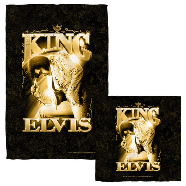 ELVIS/THE KING Face/Hand Towel Combo