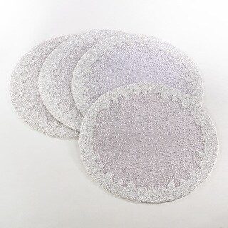 Luciana Collection Beaded Design Placemat (Set of 4)