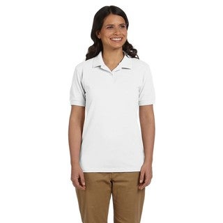 Dryblend Women's Pique Sport White Shirt