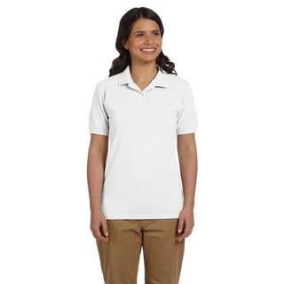 Dryblend Women's Pique Sport White Shirt
