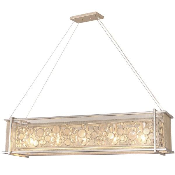 Varaluz Fascination 5-Light Zen Gold Linear Pendant