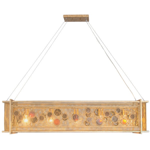Varaluz Fascination 5-Light Kolorado Linear Pendant - Gold