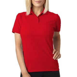 Dryblend Women's Pique Sport Red Shirt