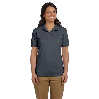 Dryblend Women's Pique Sport Charcoal Shirt