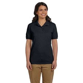 Dryblend Women's Pique Sport Black Shirt