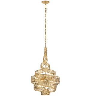 Varaluz Flow 3-Light Twist Pendant