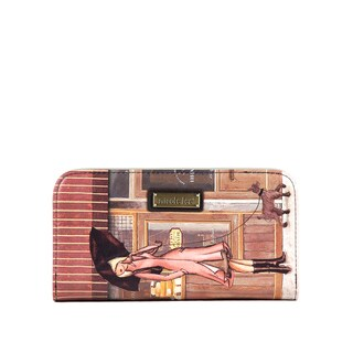 Nicole Lee Gitana Vintage Print Wallet