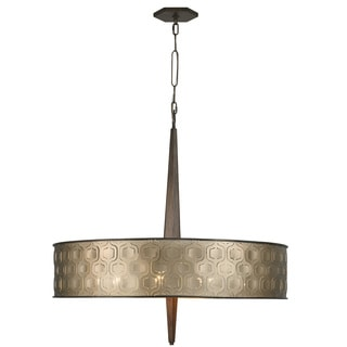 Varaluz Iconic Large 6-Light Drum Pendant