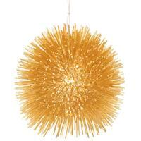 Varaluz Urchin 1-Light Mini Pendant - Gold