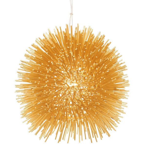 Varaluz Urchin 1-Light Mini Pendant - Gold