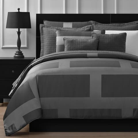 Comfy Bedding Frame Jacquard 5-piece Comforter Set