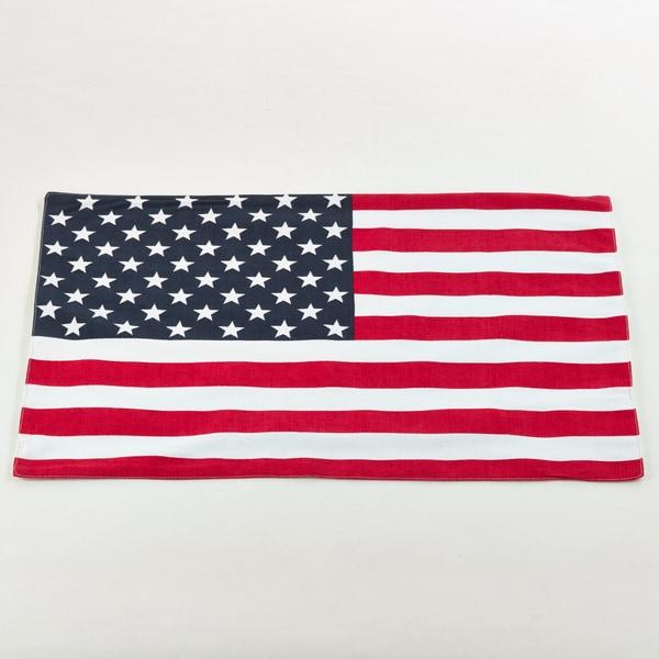 Shop Star Spangled American Flag Design Placemats (Set Of