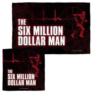 SIX MILLION DOLLAR MAN/LOGO Face/Hand Towel Combo