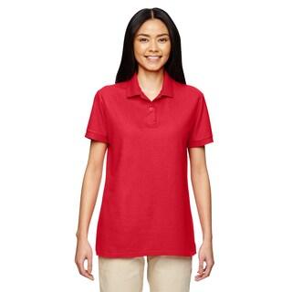 Dryblend Women's Double Pique Sport Red Shirt