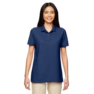Dryblend Women's Double Pique Sport Navy Shirt