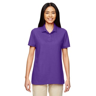 Dryblend Women's Double Pique Sport Purple Shirt