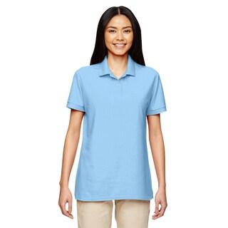 Dryblend Women's Double Pique Sport Light Blue Shirt