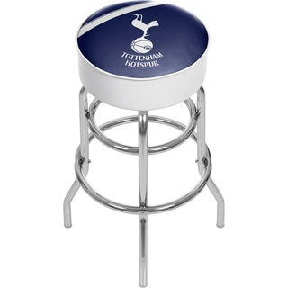 English Premier League Padded Swivel Bar Stool - Tottenham Hotspurs