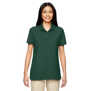 Dryblend Women's Double Pique Sport Forest Green Shirt