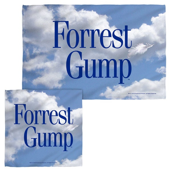 FORREST GUMP/FEATHER Face/Hand Towel Combo
