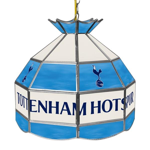 English Premier League 16 In Handmade Tiffany Lamp-Tottenham Hotspurs