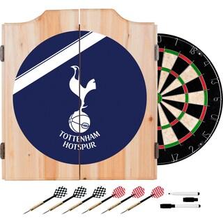 English Premier League Dart Cabinet Set - Tottenham Hotspurs