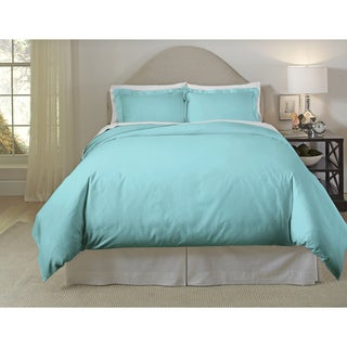 410 Thread Count Long Staple Cotton Duvet Cover Set