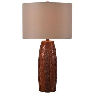 Design Craft Braid 30-inch Table Lamp