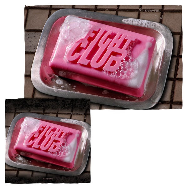 FIGHT CLUB/SOAP Face/Hand Towel Combo
