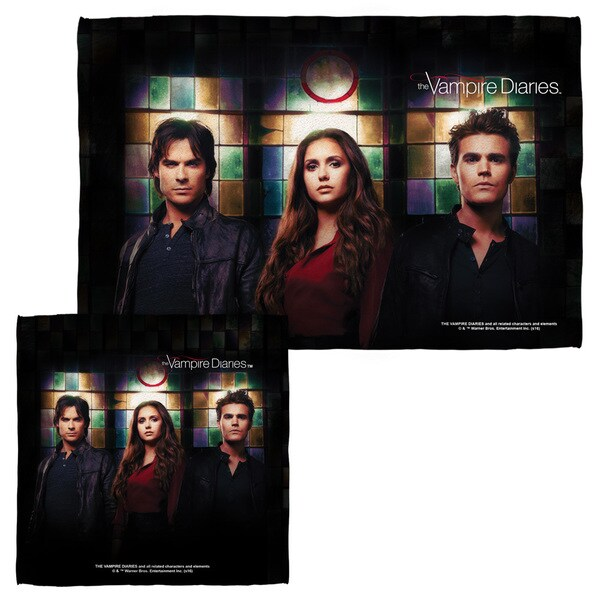 Vampire Diaries/Stained Glass Face/Hand Towel Combo