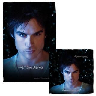 Vampire Diaries/Damon Eyes Face/Hand Towel Combo
