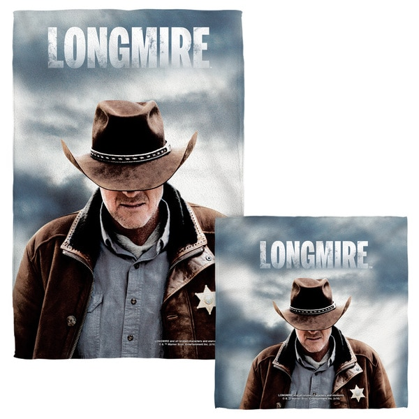 Longmire/Sheriff Face/Hand Towel Combo