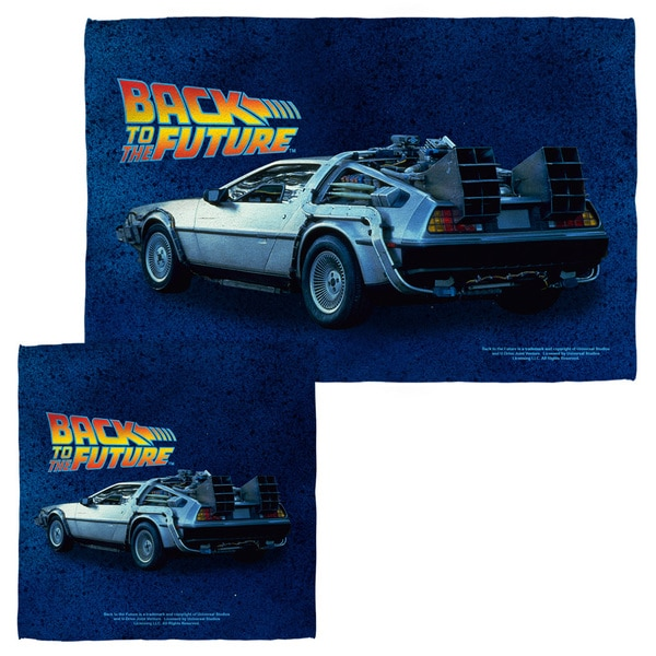 BACK TO THE FUTURE/DELOREAN Face/Hand Towel Combo