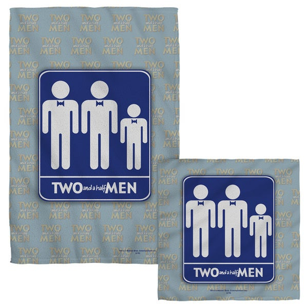 Two And A Half Men/Men Face/Hand Towel Combo