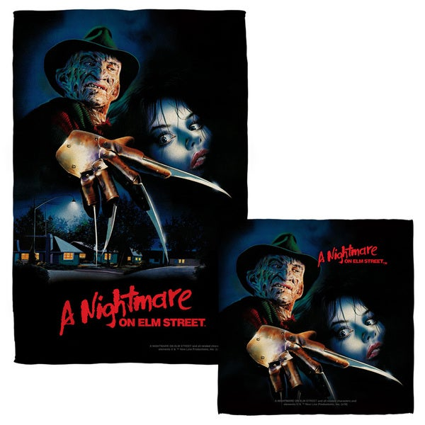 Nightmare On Elm Street/Freddy Poster Face/Hand Towel Combo