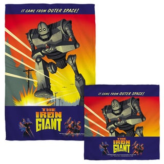 Iron Giant/It Came From Space Face/Hand Towel Combo