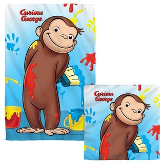 Curious George/Paint Face/Hand Towel Combo