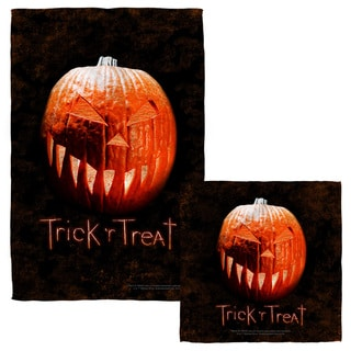 Trick R Treat/Pumpkin Face/Hand Towel Combo