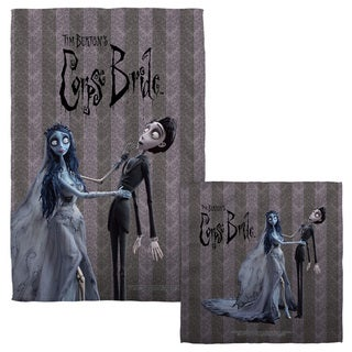 Corpse Bride/Bride And Groom Face/Hand Towel Combo