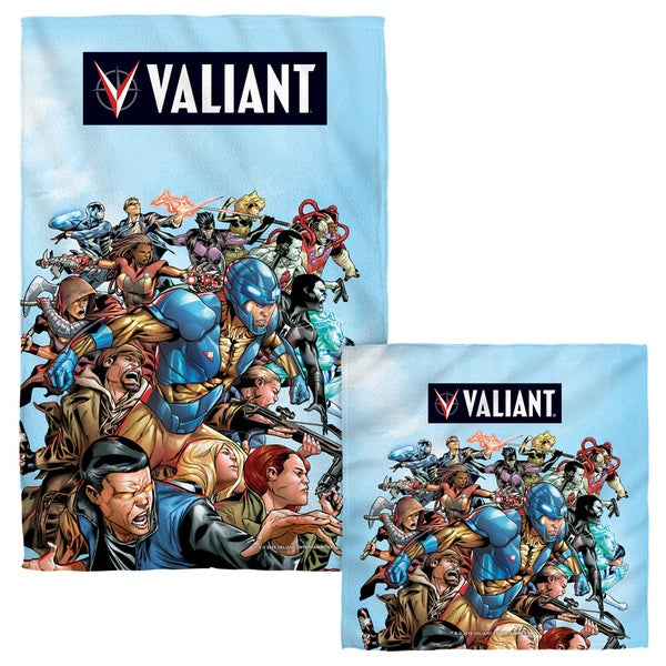 Valiant/Group Attack Face/Hand Towel Combo