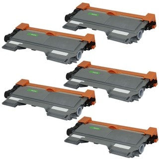 5PK Compatible TN450 Toner Cartridge For Brother Laser Printers HL-2240 series, HL-2270 Series ( Pack of 5 )