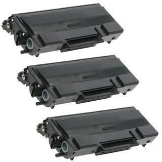 3PK Compatible TN650 Toner Cartridge For Brother HL-5340, HL-5340D ( Pack of 3 )