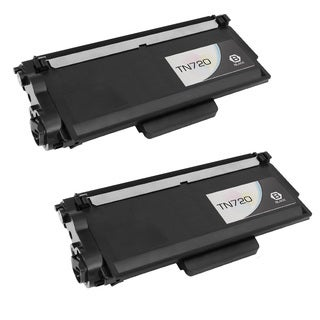 2PK Compatible TN720 Toner Cartridge For Brother DCP 8110, 8150, 8155 HL-5450 ( Pack of 2 )