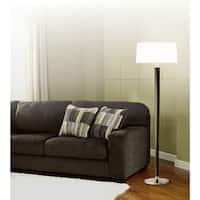 Andover Grey 1-Light Floor Lamp